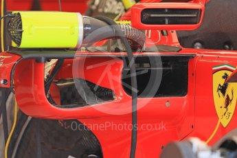 World © Octane Photographic Ltd. Formula 1 – Hungarian GP - Pit Lane. Scuderia Ferrari SF71-H. Hungaroring, Budapest, Hungary. Thursday 26th July 2018.