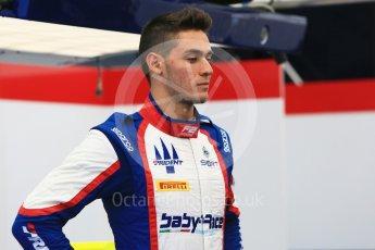 World © Octane Photographic Ltd. FIA Formula 2 (F2) – Hungarian GP - Paddock. Trident - Alessio Lorandi. Hungaroring, Budapest, Hungary. Thursday 26th July 2018.