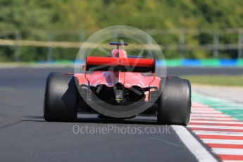 World © Octane Photographic Ltd. Formula 1 – Hungarian Post-Race Test - Day 1. Scuderia Ferrari SF71-H – Antonio Giovinazzi. Hungaroring, Budapest, Hungary. Tuesday 31st July 2018.