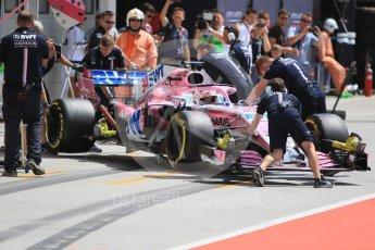 World © Octane Photographic Ltd. Formula 1 – Hungarian Post-Race Test - Day 1. Sahara Force India VJM11 – Nicholas Latifi. Hungaroring, Budapest, Hungary. Tuesday 31st July 2018.
