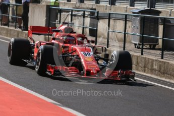 World © Octane Photographic Ltd. Formula 1 – Hungarian Post-Race Test - Day 1. Scuderia Ferrari SF71-H – Antonio Gioginazzi. Hungaroring, Budapest, Hungary. Tuesday 31st July 2018.