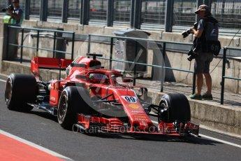 World © Octane Photographic Ltd. Formula 1 – Hungarian Post-Race Test - Day 1. Scuderia Ferrari SF71-H – Antonio Gioginazzi. Hungaroring, Budapest, Hungary. Tuesday 31st July 2018.
