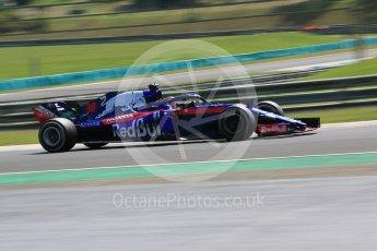 World © Octane Photographic Ltd. Formula 1 – Hungarian Post-Race Test - Day 2. Scuderia Toro Rosso STR13 – Sean Gelael. Hungaroring, Budapest, Hungary. Wednesday 1st August 2018.