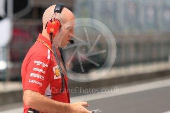 World © Octane Photographic Ltd. Formula 1 – Hungarian Post-Race Test - Day 2. Jock Clear – Chief Engineer - Scuderia Ferrari. Hungaroring, Budapest, Hungary. Sunday 29th July 2018.