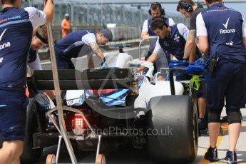 World © Octane Photographic Ltd. Formula 1 – Hungarian Post-Race Test - Day 2. Williams Martini Racing FW41 – Robert Kubica. Hungaroring, Budapest, Hungary. Wednesday 1st August 2018.