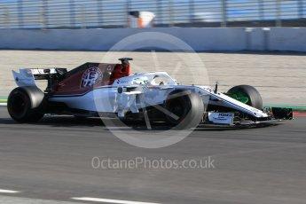 World © Octane Photographic Ltd. Formula 1 – In season test 1, day 1. Alfa Romeo Sauber F1 Team C37 – Antonio Giovinazzi. Circuit de Barcelona-Catalunya, Spain. Tuesday 15th May 2018.