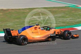 World © Octane Photographic Ltd. Formula 1 – In season test 1, day 1. McLaren MCL33 – Lando Norris. Circuit de Barcelona-Catalunya, Spain. Tuesday 15th May 2018.