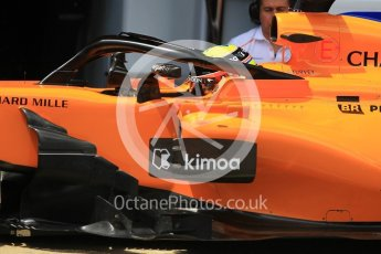 World © Octane Photographic Ltd. Formula 1 – In season test 1, day 1. McLaren MCL33 – Oliver Turvey. Circuit de Barcelona-Catalunya, Spain. Tuesday 15th May 2018.