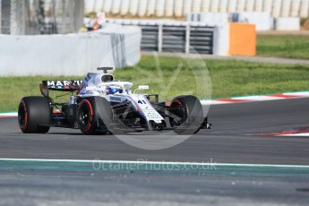 World © Octane Photographic Ltd. Formula 1 – In season test 1, day 1. Williams Martini Racing FW41 – Oliver Rowland. Circuit de Barcelona-Catalunya, Spain. Tuesday 15th May 2018.