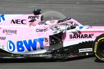 World © Octane Photographic Ltd. Formula 1 – In season test 1, day 1. Sahara Force India VJM11 - Nicholas Latifi. Circuit de Barcelona-Catalunya, Spain. Tuesday 15th May 2018.