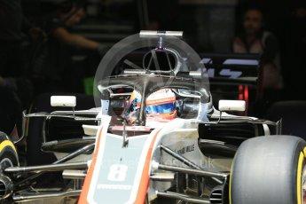World © Octane Photographic Ltd. Formula 1 – In season test 1, day 1. Haas F1 Team VF-18 – Romain Grosjean. Circuit de Barcelona-Catalunya, Spain. Tuesday 15th May 2018.