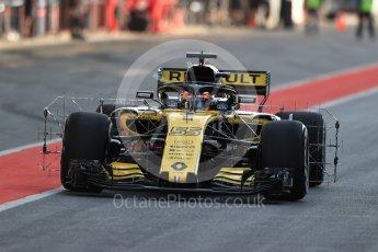 World © Octane Photographic Ltd. Formula 1 – In season test 1, day 1. Renault Sport F1 Team RS18 – Carlos Sainz. Circuit de Barcelona-Catalunya, Spain. Tuesday 15th May 2018.