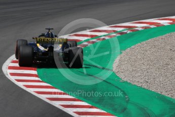 World © Octane Photographic Ltd. Formula 1 – In season test 1, day 1. Renault Sport F1 Team RS18 – Carlos Sainz. Circuit de Barcelona-Catalunya, Spain. Tuesday 15th May 2018.