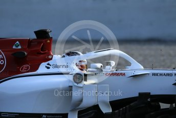 World © Octane Photographic Ltd. Formula 1 – In season test 1, day 2. Alfa Romeo Sauber F1 Team C37 – Charles Leclerc. Circuit de Barcelona-Catalunya, Spain. Wednesday 16th May 2018.