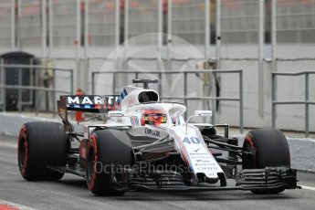 World © Octane Photographic Ltd. Formula 1 – In season test 1, day 2. Williams Martini Racing FW41 – Robert Kubica. Circuit de Barcelona-Catalunya, Spain. Wednesday 16th May 2018.