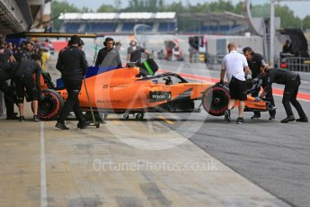 World © Octane Photographic Ltd. Formula 1 – In season test 1, day 2. McLaren MCL33 – Lando Norris. Circuit de Barcelona-Catalunya, Spain. Wednesday 16th May 2018.