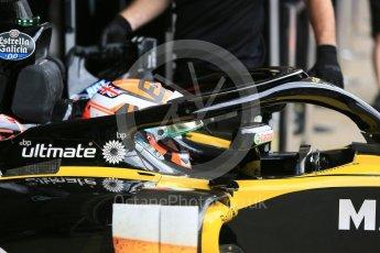 World © Octane Photographic Ltd. Formula 1 – In season test 1, day 2. Renault Sport F1 Team RS18 – Jack Aitken. Circuit de Barcelona-Catalunya, Spain. Wednesday 16th May 2018.