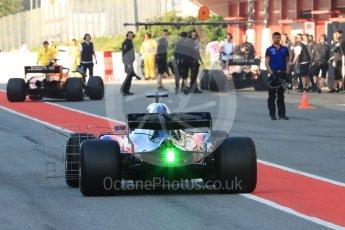 World © Octane Photographic Ltd. Formula 1 – In season test 1, day 2. Scuderia Toro Rosso STR13 – Sean Gelael. Circuit de Barcelona-Catalunya, Spain. Wednesday 16th May 2018.
