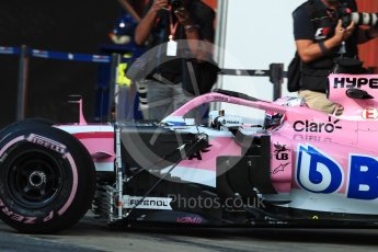 World © Octane Photographic Ltd. Formula 1 – In season test 1, day 2. Sahara Force India VJM11 – Nikita Mazepin. Circuit de Barcelona-Catalunya, Spain. Wednesday 16th May 2018.