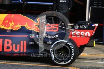 World © Octane Photographic Ltd. Formula 1 – In season test 1, day 2. Aston Martin Red Bull Racing TAG Heuer RB14 – Jake Dennis. Circuit de Barcelona-Catalunya, Spain. Wednesday 16th May 2018.