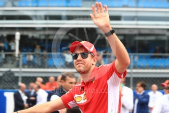 World © Octane Photographic Ltd. Formula 1 – Italian GP - Drivers Parade. Scuderia Ferrari SF71-H – Sebastian Vettel. Autodromo Nazionale di Monza, Monza, Italy. Sunday 2nd September 2018.
