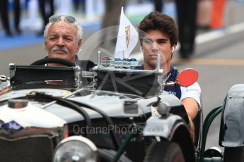 World © Octane Photographic Ltd. Formula 1 – Italian GP - Drivers Parade. Williams Martini Racing FW41 – Lance Stroll. Autodromo Nazionale di Monza, Monza, Italy. Sunday 2nd September 2018.