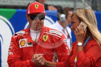 World © Octane Photographic Ltd. Formula 1 – Italian GP - Grid. Scuderia Ferrari SF71-H – Kimi Raikkonen. Autodromo Nazionale di Monza, Monza, Italy. Sunday 2nd September 2018.