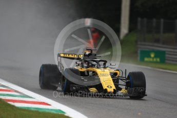 World © Octane Photographic Ltd. Formula 1 – Italian GP - Practice 1. Renault Sport F1 Team RS18 – Nico Hulkenberg. Autodromo Nazionale di Monza, Monza, Italy. Friday 31st August 2018.