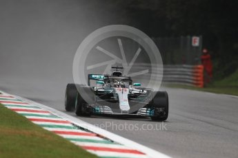 World © Octane Photographic Ltd. Formula 1 – Italian GP - Practice 1. Mercedes AMG Petronas Motorsport AMG F1 W09 EQ Power+ - Lewis Hamilton. Autodromo Nazionale di Monza, Monza, Italy. Friday 31st August 2018.