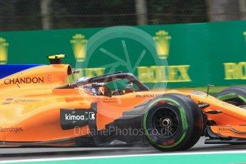 World © Octane Photographic Ltd. Formula 1 – Italian GP - Practice 1. McLaren MCL33 Reserve Driver – Lando Norris. Autodromo Nazionale di Monza, Monza, Italy. Friday 31st August 2018.
