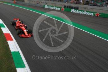 World © Octane Photographic Ltd. Formula 1 – Italian GP - Practice 2. Scuderia Ferrari SF71-H – Kimi Raikkonen. Autodromo Nazionale di Monza, Monza, Italy. Friday 31st August 2018.