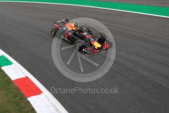 World © Octane Photographic Ltd. Formula 1 – Italian GP - Practice 2. Aston Martin Red Bull Racing TAG Heuer RB14 – Max Verstappen. Autodromo Nazionale di Monza, Monza, Italy. Friday 31st August 2018.