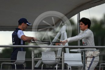 World © Octane Photographic Ltd. Formula 1 – Italian GP - Qualifying. Williams Martini Racing FW41 – Lance Stroll. Autodromo Nazionale di Monza, Monza, Italy. Saturday 1st September 2018.