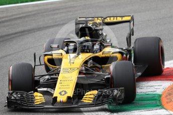 World © Octane Photographic Ltd. Formula 1 – Italian GP - Qualifying. Renault Sport F1 Team RS18 – Nico Hulkenberg. Autodromo Nazionale di Monza, Monza, Italy. Saturday 1st September 2018.
