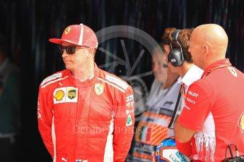 World © Octane Photographic Ltd. Formula 1 – Italian GP - Qualifying. Scuderia Ferrari SF71-H – Kimi Raikkonen. Autodromo Nazionale di Monza, Monza, Italy. Saturday 1st September 2018.