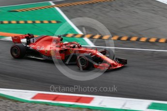 World © Octane Photographic Ltd. Formula 1 – Italian GP - Qualifying. Scuderia Ferrari SF71-H – Sebastian Vettel. Autodromo Nazionale di Monza, Monza, Italy. Saturday 1st September 2018.