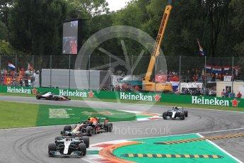World © Octane Photographic Ltd. Formula 1 – Italian GP - Race. Mercedes AMG Petronas Motorsport AMG F1 W09 EQ Power+ - Lewis Hamilton. Autodromo Nazionale di Monza, Monza, Italy. Sunday 2nd September 2018.