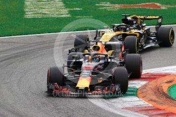 World © Octane Photographic Ltd. Formula 1 – Italian GP - Race. Aston Martin Red Bull Racing TAG Heuer RB14 – Daniel Ricciardo. Autodromo Nazionale di Monza, Monza, Italy. Sunday 2nd September 2018.
