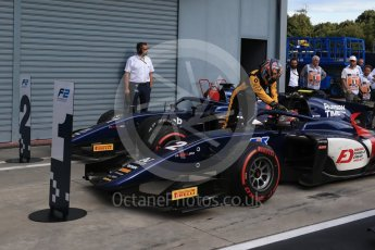 World © Octane Photographic Ltd. FIA Formula 2 (F2) – Italian GP - Race 1. Russian Time - Artem Markelov and Tadasuke Makin. Autodromo Nazionale di Monza, Monza, Italy. Saturday 1st September 2018