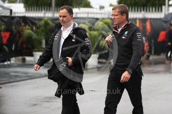 World © Octane Photographic Ltd. Formula 1 - Italian GP - Paddock. Andy Cowell - Managing Director of Mercedes AMG High Performance Powertrains. Autodromo Nazionale di Monza, Monza, Italy. Saturday 1st September 2018.