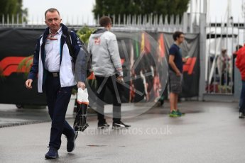 World © Octane Photographic Ltd. Formula 1 - Italian GP - Paddock. Paddy Lowe - Chief Technical Officer at Williams Martini Racing. Autodromo Nazionale di Monza, Monza, Italy. Saturday 1st September 2018.