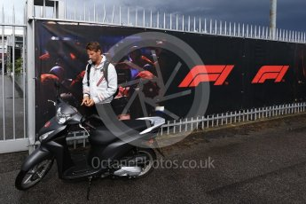 World © Octane Photographic Ltd. Formula 1 – Italian GP - Paddock. Haas F1 Team VF-18 – Romain Grosjean. Autodromo Nazionale di Monza, Monza, Italy. Saturday 1st September 2018.