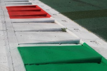 World © Octane Photographic Ltd. Formula 1 – Italian GP - Track Walk. Monza kerbs. Autodromo Nazionale di Monza, Monza, Italy. Thursday 30th August 2018.