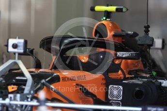 World © Octane Photographic Ltd. Formula 1 – Italian GP - Track Walk. McLaren MCL33. Autodromo Nazionale di Monza, Monza, Italy. Thursday 30th August 2018.