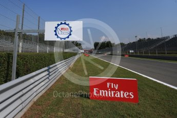 World © Octane Photographic Ltd. Formula 1 – Italian GP - Track Walk. Autodromo Nazionale di Monza, Monza, Italy. Thursday 30th August 2018.