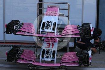 World © Octane Photographic Ltd. Formula 1 – Italian GP - Track Walk. Racing Point Force India VJM11. Autodromo Nazionale di Monza, Monza, Italy. Thursday 30th August 2018.