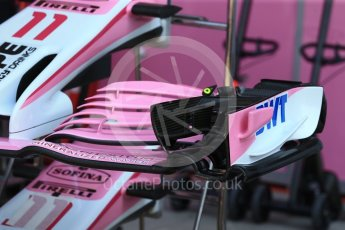 World © Octane Photographic Ltd. Formula 1 – Italian GP - Track Walk. Racing Point Force India VJM11. Autodromo Nazionale di Monza, Monza, Italy. Thursday 30th August 2018.