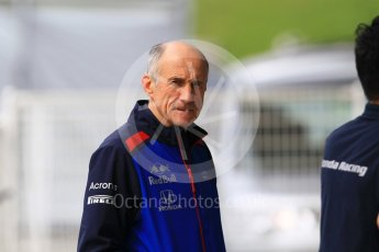 World © Octane Photographic Ltd. Formula 1 - Japanese GP - Paddock. Franz Tost – Team Principal of Scuderia Toro Rosso. Suzuka Circuit, Japan. Friday 5th October 2018.