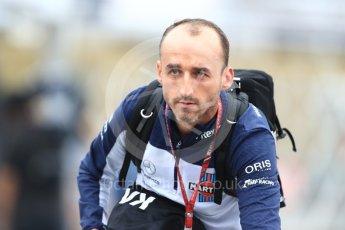 World © Octane Photographic Ltd. Formula 1 – Japanese GP - Paddock. Williams Martini Racing FW41 – Robert Kubica. Suzuka Circuit, Japan. Friday 5th October 2018.