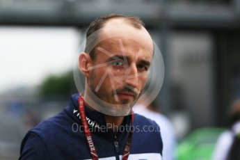 World © Octane Photographic Ltd. Formula 1 – Japanese GP - Paddock. Williams Martini Racing FW41 – Robert Kubica. Suzuka Circuit, Japan. Friday 5th October 2018.